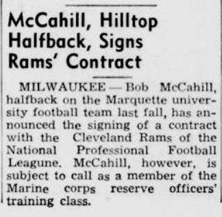 McCahill - Rams