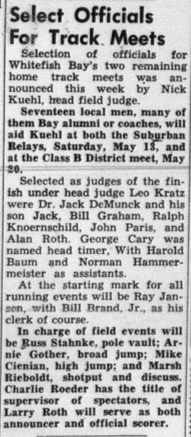 1950 Officials
