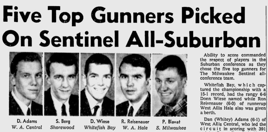 1967 BB All-Conference