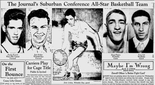 1945 Basketball All-Suburban